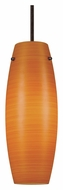 Cal UP-1015/6-RU Unipack 9 Inch Tall Transitional Hanging Light - Rust