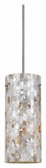 Cal UP-1031/6-BS Unipack Mini 3 Inch Diameter Braided Steel Cord Bar Light Fixture
