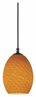 Cal UP-1035/6-DB Unipack Transitional Style Dark Bronze 4 Inch Tall Mini Pendant Light