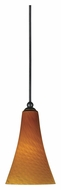 Cal UP-1038/6-DB Unipack 5 Inch Diameter Mini Dark Bronze Hanging Light Fixture
