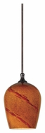 Cal UP-1040/6-RU Unipack 3 Inch Diameter Rust Finish Transitional Pendant Lighting