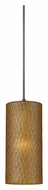 Cal UP-1041/6-DB Unipack Transitional 10 Inch Tall Mini Pendant Hanging Light - Dark Bronze