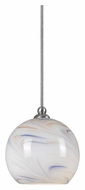 Cal UP-1042/6-BS Unipack 5 Inch Tall Mini Transitional Hanging Light - Braided Steel