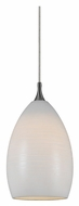Cal UP-1060/6-BS Unipack 6 Inch Tall Braided Steel Cord Transitional Pendant Lamp