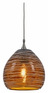 Cal UP-1064/6-BS Unipack 4 Inch Tall Transitional Ceiling Pendant Light - Mini