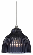Cal UP-1069/6-BS Unipack 5 Inch Diameter 7 Inch Tall Mini Lighting Pendant