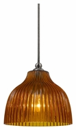 Cal UP-1070/6-BS Unipack Mini 7 Inch Tall Braided Steel Cord Bar Light Fixture