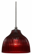 Cal UP-1071/6-BS Unipack 7 Inch Tall Transitional Mini Lighting Pendant