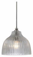 Cal UP-1073/6-BS Unipack Mini 5 Inch Diameter 7 Inch Tall Hanging Light - Braided Steel