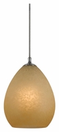 Cal UP-1074/6-BS Unipack 6 Inch Tall Braided Steel Cord Hanging Pendant Lamp