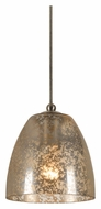 Cal UP-1075/6-BS Unipack Braided Steel Cord 6 Inch Tall Hanging Lamp - Transitional