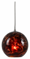Cal UP-1076/6-BS Unipack Transitional 5 Inch Tall Mini Pendant Light Fixture
