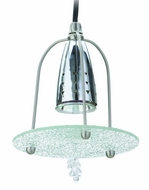 Cal UP-925/6-BS Unipack Modern 6 Inch Tall Drop Ceiling Lighting Fixture - Mini