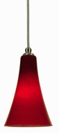 Cal UP-952/6-BS Unipack Transitional Style 8 Inch Tall Mini Pendant Light