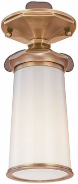 Troy C1390AGB Gotham Contemporary Outdoor Semi-Flush Ceiling Light