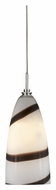 Cal UP-960/6-BS Unipack Mini Braided Steel Cord 7 Inch Tall Lighting Pendant