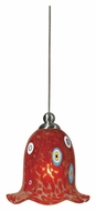 Cal UP-973/6-BS Unipack 5 Inch Tall Glass Transitional Pendant Lighting