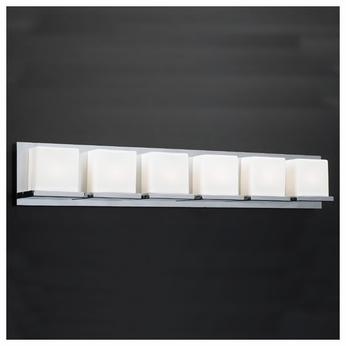 PLC 18156 Furlux 6-light Contemporary Vanity Light