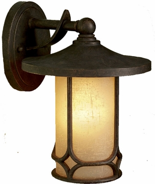 Kichler 9365AGZ Chicago 11 Inch Outdoor Wall Lantern