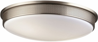 Philips F2080-36U Perf Contemporary Fluorescent Flushmount - 16 inches wide