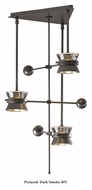 Hubbardton Forge 138810 Apparatus 3 Lamp 16 Inch Diameter Drop Ceiling Lighting - Halogen