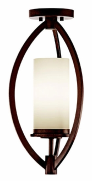 Kichler 42535CTZ Neptune Place Contemporary Semi-flush Mount Ceiling Light