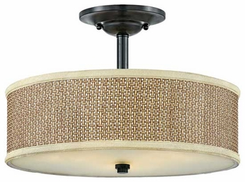 Quoizel ZE1717K Zen Semi-Flush Ceiling Light