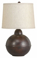 Kichler 70883 Missoula Bronze 21 Inch Tall Bedroom Table Lamp
