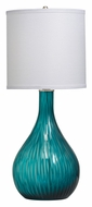 Kichler 70888 Dharma 25 Inch Tall Lighting Table Lamp - Aqua