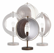 Kichler 70892 Whirl Contemporary 18 Inch Tall Table Lamp
