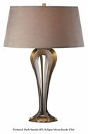 Hubbardton Forge 273080 Rene 26 Inch Tall Living Room Table Lamp With Finish Options
