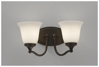 Feiss VS18502ORB Beckett Contemporary 2-light Bathroom Vanity Lighting