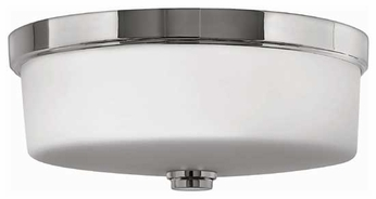 Hinkley 5421-BN Ocho Contemporary Flush-Mount Ceiling Light