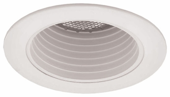 Liton LR994 4 Inch Line Voltage Contemporary Halogen Recessed Deep Phenolic Baffle Trim