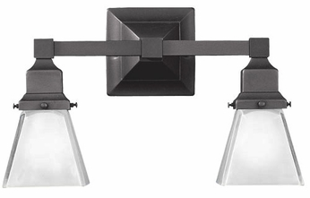 Hudson Valley 872 Gramercy Square Dual Vanity Lighting Fixture