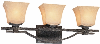 Troy B1693-FI Taos 3 Light Forged Iron Vanity Fixture