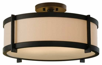 Feiss SF272ORB Stelle Semi-Flush Ceiling Light