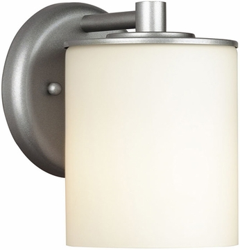 Forecast F8499-41 Midnight Contemporary Silver Outdoor Wall Fixture - 4.5 inches wide