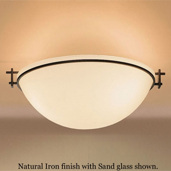 Hubbardton Forge 12-4252 Moonband Semi-Flush Bowl Ceiling Light