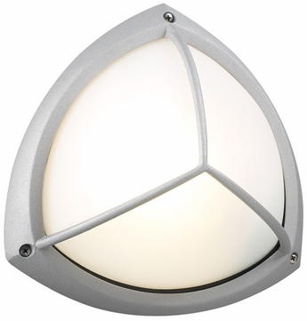 PLC 1846-SL Canterbury Outdoor Silver Ceiling/Wall Light
