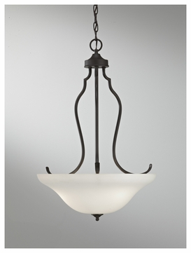 Feiss F26533ORB Beckett Contemporary Pendant Uplight