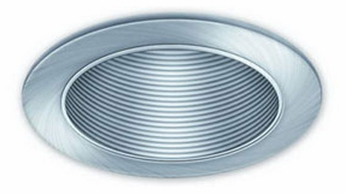 Liton LRM985 4 Inch Line Voltage Contemporary Halogen Recessed Adjustable Metal Baffle Trim