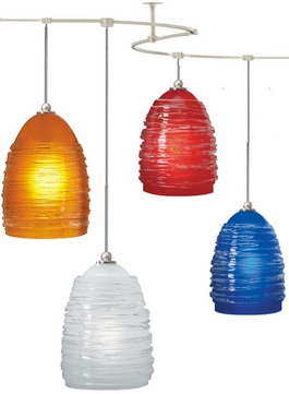 Tech TT-NEST T-Trak Nest Glass Line-Voltage Pendant Light with Fluorescent Option