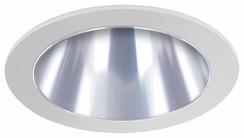 Liton LR999 4 Inch Line Voltage Contemporary Halogen Recessed Shallow Reflector Trim