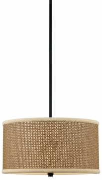 Quoizel ZE2816K Zen Three Light Pendant - 16 inches