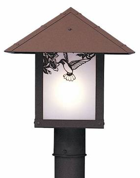 Arroyo Craftsman EP-16 Evergreen Craftsman Outdoor Light Post - 16 inches wide