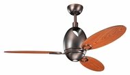Kichler 300155OBB Merrick Oil Brushed Bronze Modern Ceiling Fan Light Fixture