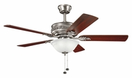 Kichler 300158AP Athens 5 Blade Pull Chain Antique Pewter Traditional Ceiling Fan