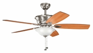 Kichler 300159AP Tolkin 52 Inch Span Traditional Ceiling Fan Lighting - Antique Pewter