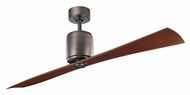 Kichler 300160OBB Ferron Contemporary 2 Blade 60 Inch Span Ceiling Fan - Oil Brushed Bronze